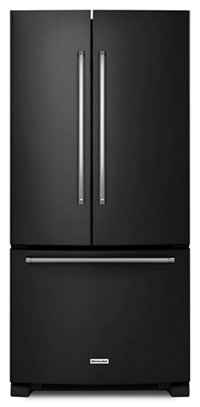 22 Cu. Ft. 33-Inch Width Standard Depth French Door Refrigerator with Interior Dispenser