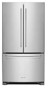 25 cu.ft. 36-Width Standard Depth French Door Refrigerator with Interior Dispense