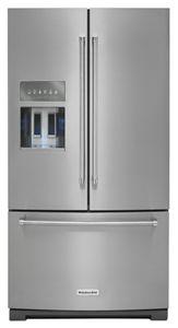 stainless steel kitchenaid 26 8 cu ft 36 inch width standard depth rh kitchenaid ca