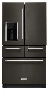 black stainless 25 8 cu ft 36 multi door freestanding rh kitchenaid ca