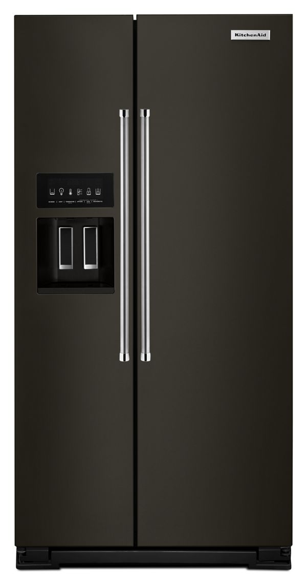 22.7 Cu. Ft. Counter Depth Side-by-Side Refrigerator with Exterior Ice and Water