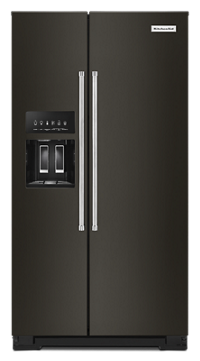 19.9 cu ft. Counter-Depth Side-by-Side Refrigerator with Exterior Ice and Water