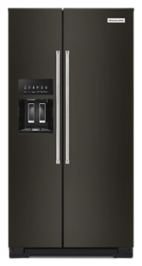 22.6 cu ft. Counter-Depth Side-by-Side Refrigerator with Exterior Ice and Water
