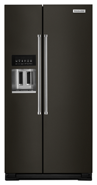 24.8 cu ft. Side-by-Side Refrigerator with Exterior Ice and Water