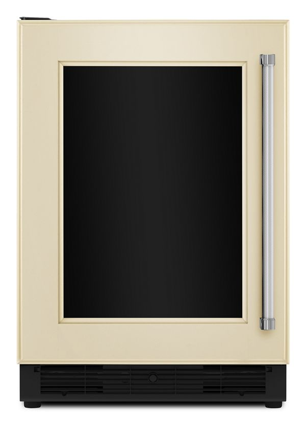 "Image of KitchenAid® 24"" Panel Ready Beverage Center with Glass Door"