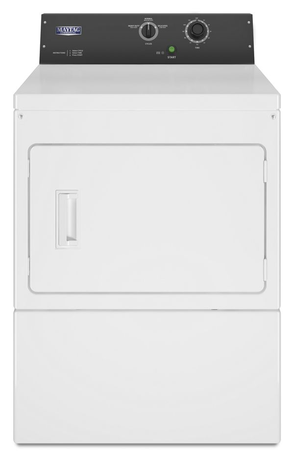 Commercial Gas Super-Capacity Dryer, Card Reader-Ready or Non-Coin