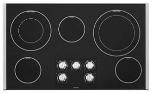 36-inch Wide Electric Cooktop with Dual-Choice™ Elements