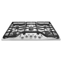 36 Inch Wide Gas Cooktop With Burner