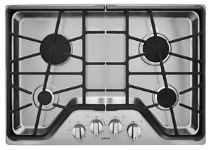 30-inch Wide Gas Cooktop with DuraGuard™ Protection Finish