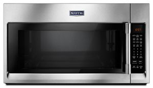 microwaves \u0026 microwave ovens maytagover the range microwave with wideglide™ tray 2 1 cu ft