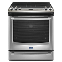 Maytag® 30-inch Gas Range with Convection and Fit System - 5.8 cu. ft.