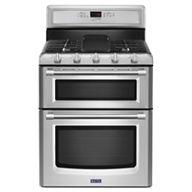 30-inch Wide Double Oven Gas Range with Convection - 6.0 cu. ft.