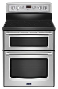 Stainless Steel Gemini 174 Double Oven Electric Stove With