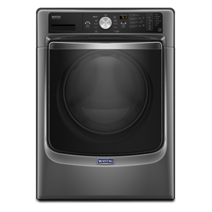 Maytag® Fresh Hold® keeps clothes fresh up to 12 hours.