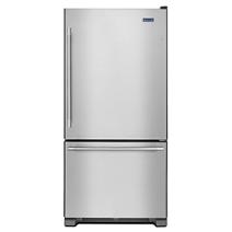 Réfrigérateur à portes françaises Maytag® à congélateur inférieur, 33 po, 22 pi3