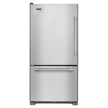 Réfrigérateur à congélateur inférieur avec tiroir de congélation, 30 po