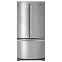 22 cu. ft. 3-Door French Door Refrigerator with Strongbox™ Door Hinges
