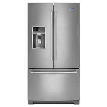 Réfrigérateur à portes françaises, 36 po, 27 pi³