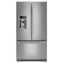 Maytag® 36- Inch Wide French Door Refrigerator with Dual Cool® Evaporators - 27 Cu. Ft.