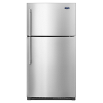 Maytag® 33-Inch Wide Top Freezer Refrigerator with EvenAir™ Cooling Tower- 21 Cu. Ft.