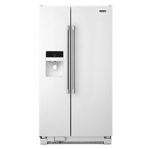 Réfrigérateur côte à côte Whirlpool® 21 pi cu et 33 po de largeur