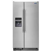 "21 cu. ft. Side-by-Side Refrigerator with 33"" Width"