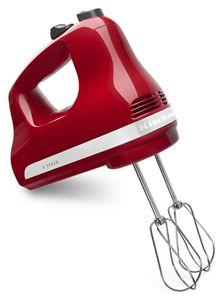 Hand held mixers with comfort handle for easy management.