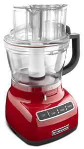 Simplify meal prep with food processors from KitchenAid.