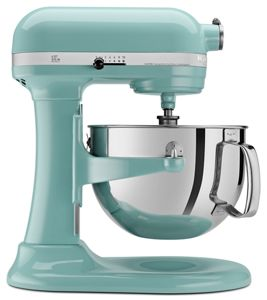 Batidoras de tazón elevable de KitchenAid.