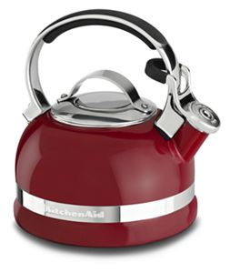 A stovetop tea kettle helps you boil water for drinks, soups and more.