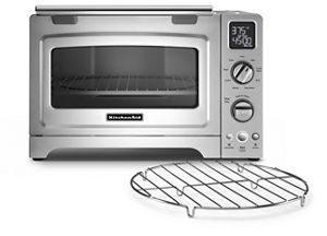 Bake, toast, roast and reheat with KitchenAid® toaster ovens.