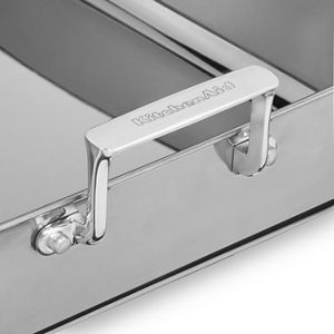 Tri-Ply Polished Stainless Steel Roaster