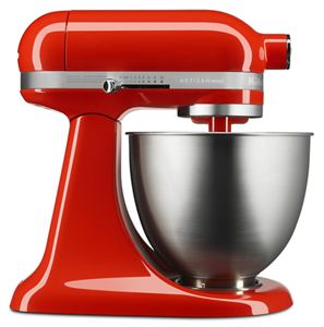 Introducing the KitchenAid Artisan Mini stand mixer.