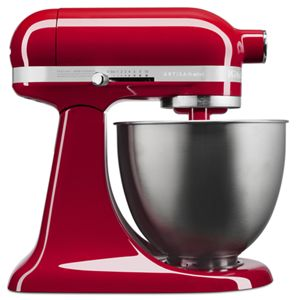 Introducing the KitchenAid® Artisan®Mini stand mixer.