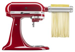 Make your own pasta with the stand mixer attachment to roll and cut dough.