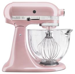 Silk Pink Artisan Design Series 5 Quart Tilt Head Stand Mixer With