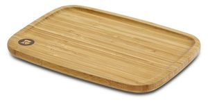 KitchenAid® makes two-sided bamboo cutting boards.