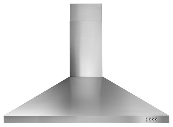 "Image of 36"" Contemporary Stainless Steel Wall Mount Range Hood"