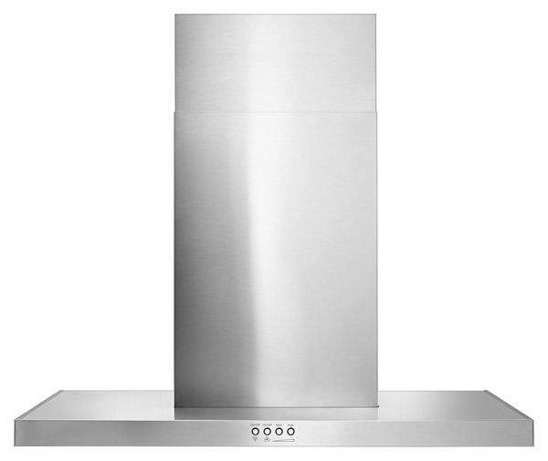 "Image of 30"" Stainless Steel Wall Mount Flat Range Hood"