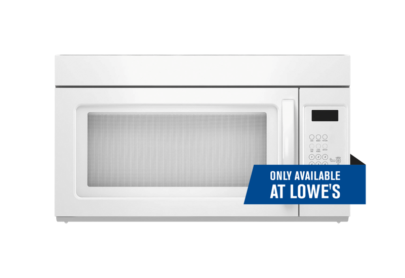 1 6 cu ft microwave range hood combination whirlpool