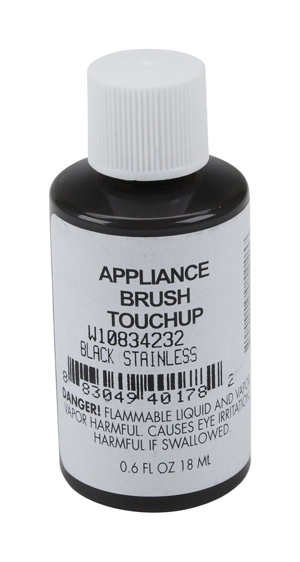 Black Stainless Appliance Touchup Paint