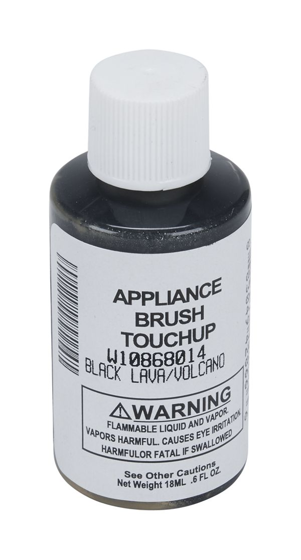 Image of 0.6 OZ Black Lava Touch-Up Paint Bottle