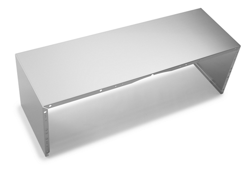 "Full Width Duct Cover - 36"" Stainless Steel"
