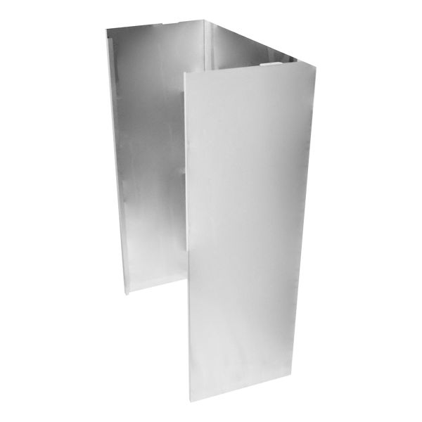 Image of Wall Hood Chimney Extension Kit, 9ft -12 ft. - Stainless Steel