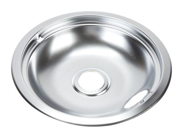 Image of Electric Range Round Burner Drip Bowl, Chrome