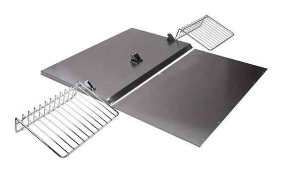 Range Hood Backsplash Kit with Shelf