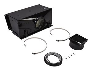 Range Ductless Downdraft Vent Kit, Black
