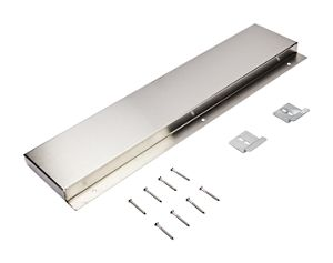 "6"" Slide-in Range Backsplash, Stainless"