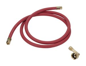 Dishwasher Fill Hose 3/4-in, 90 degree elbow adapter