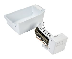 Refrigerator Ice Maker Assembly